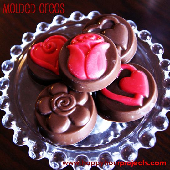 Chocolate Molded Oreos