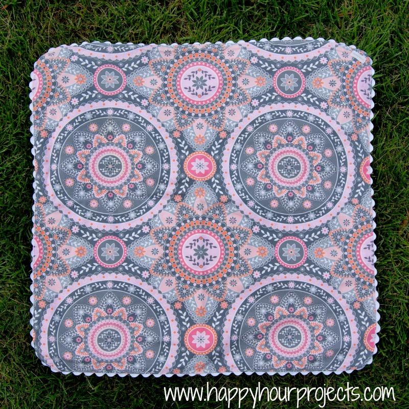 Ric-Rac Blanket