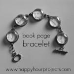 Book Page Bracelet
