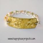 Eggshell Mosaic Bracelet