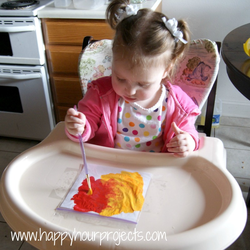 Mess-Free Fingerpainting