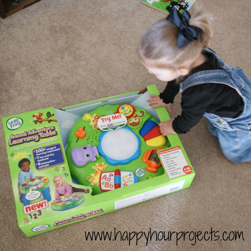 Leap Frog Animal Adventure Learning Table Review