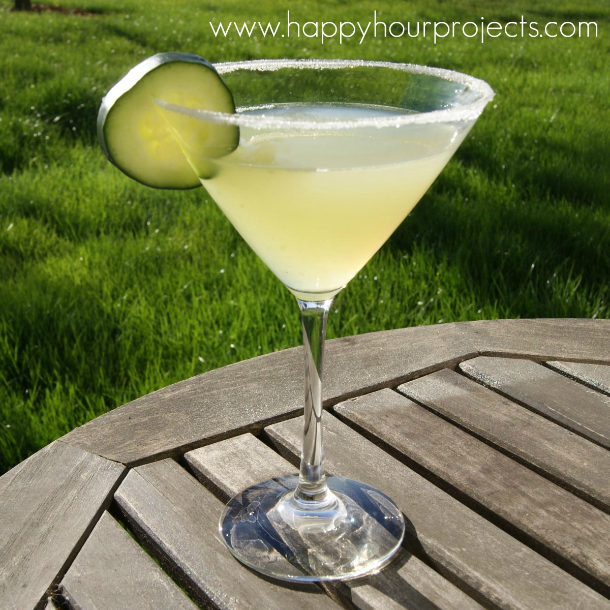 Cucumber Martini at www.happyhourprojects.com