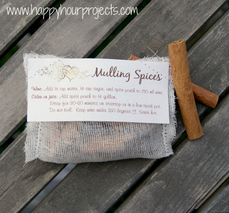 Mulling Spices - Happy Hour Projects