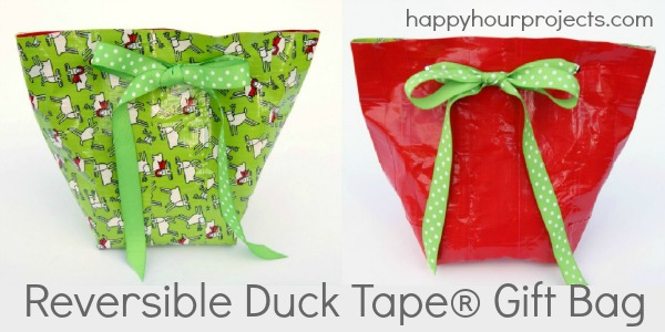 Duck Tape® Reversible Gift Bag