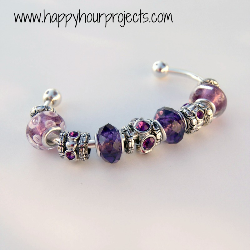 Bracelet With Charms: DIY Pandora-Inspired Bracelet