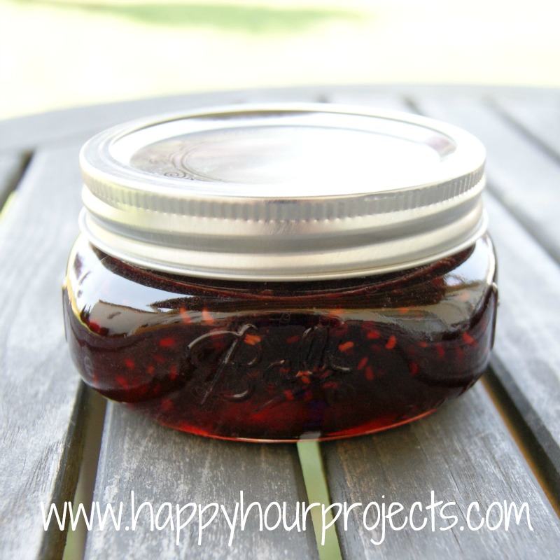 Raspberry-Pomegranate Jam