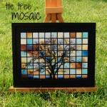 Glass Tile Tree Mosaic