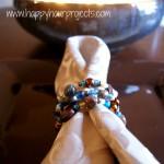 Easy Beaded Napkin Rings