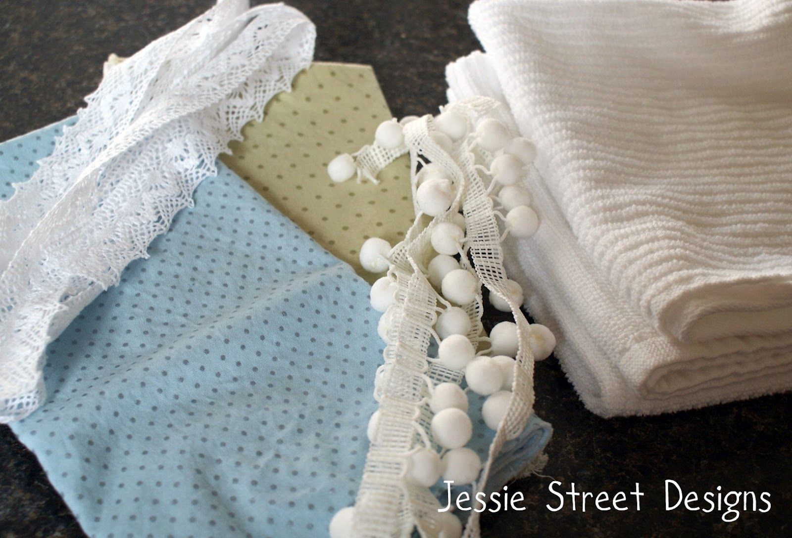 Tea Towel Tutorial by Jessie Street Designs