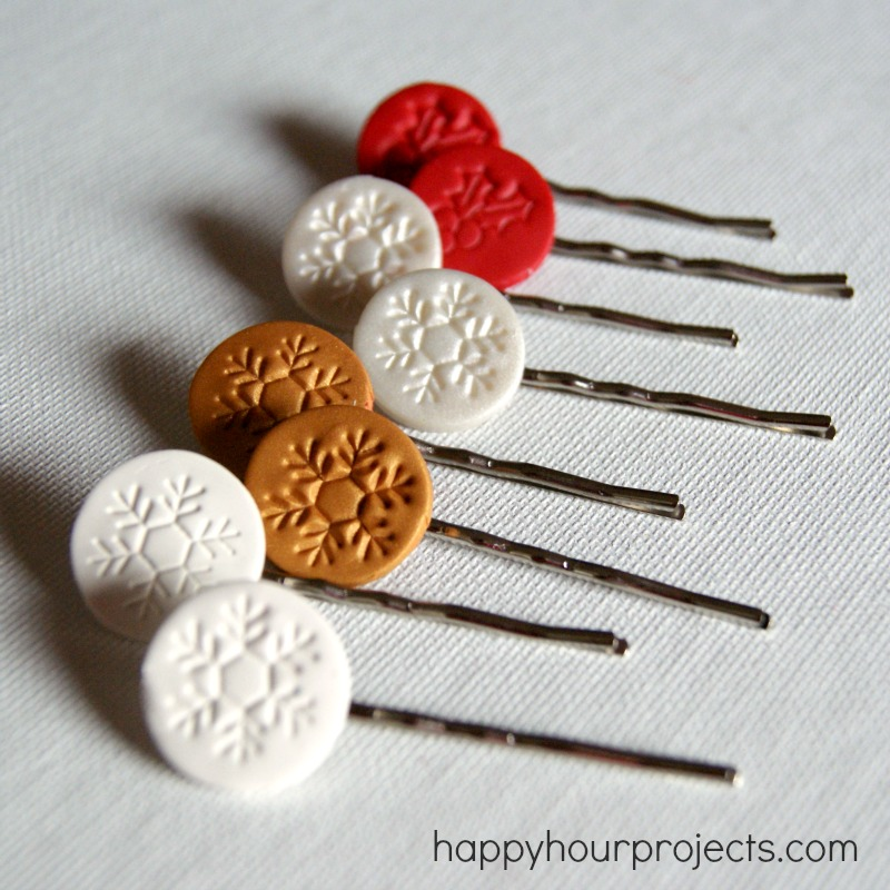 Christmas Hair Pins