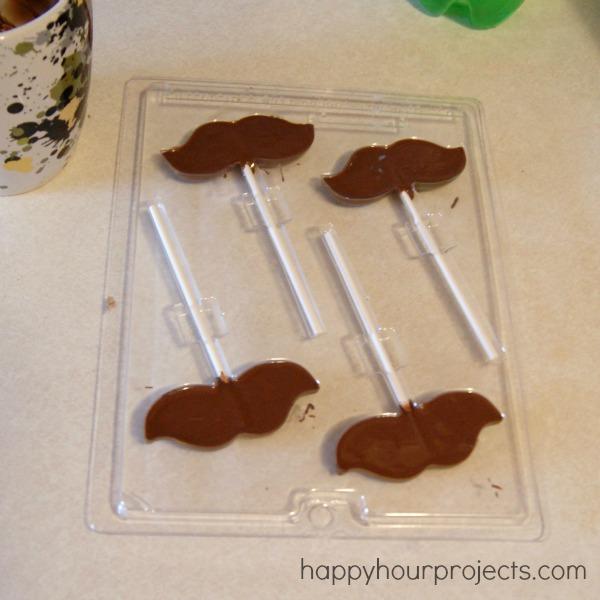 Edible Mustache Photo Props