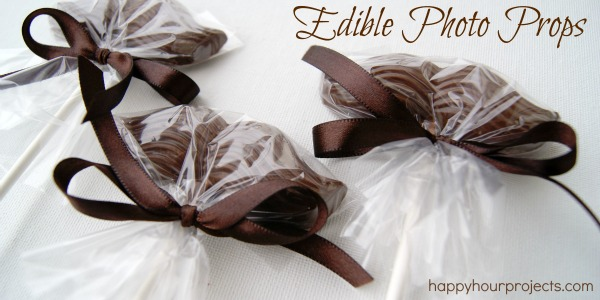 Edible Mustache Photo Props