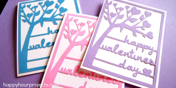 Free Download – Silhouette-Cut Valentines