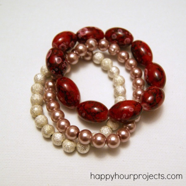 Easy Beginner Stretch Bracelet