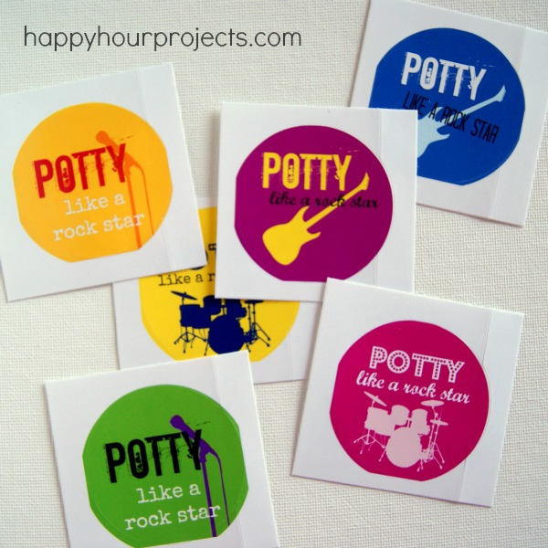 Potty Training Reward Stickers