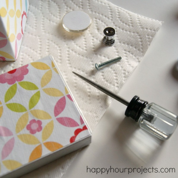 Mod Podge Gift BoxHappy Hour Projects