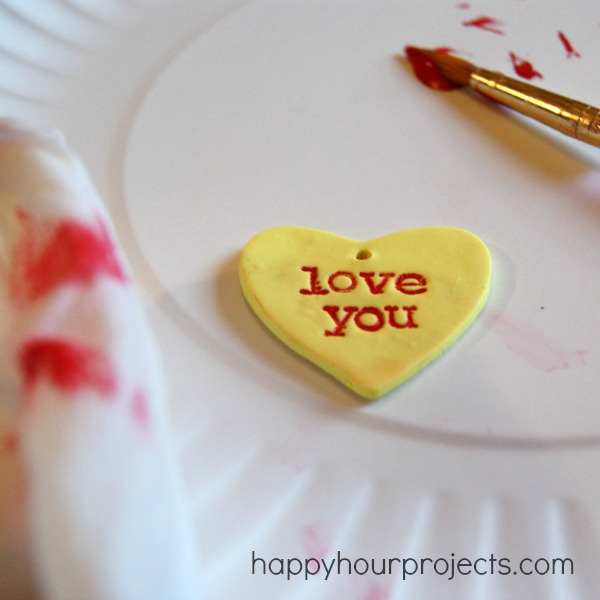 Polymer Clay Gift Tags For Valentines DayHappy Hour Projects