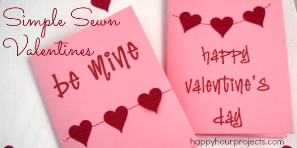 Simple Sewn Valentines