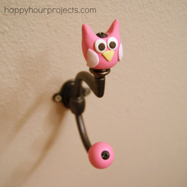 Owl Bathroom Hook