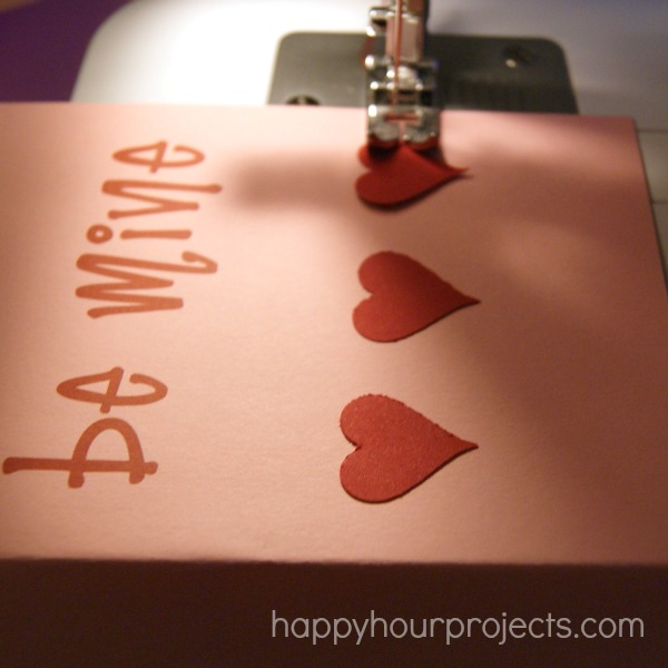 Simple Sewn Handmade Valentines