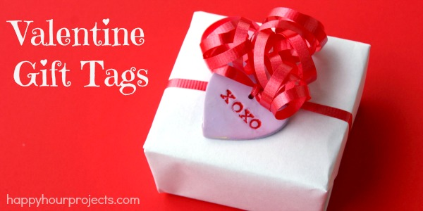 Polymer Clay Gift Tags For Valentine's Day