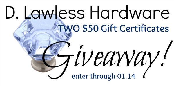 D Lawless Hardware Giveaway