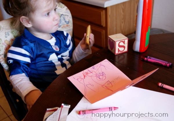 Toddler Art Valentines