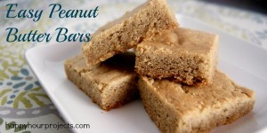 Easy Peanut Butter Bars