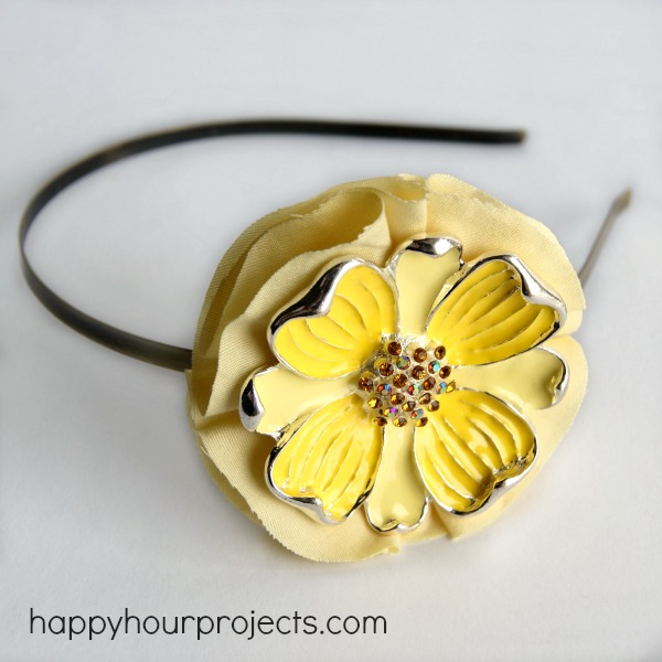 Brooch to Headband