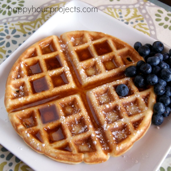 Classic Waffles - Happy Hour Projects