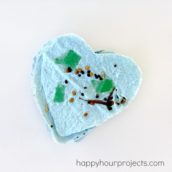 Recycled Plantable Seed Paper Tags