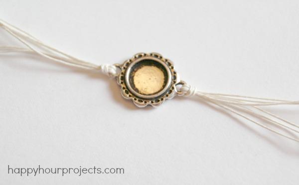 Woven Ankle Bracelet