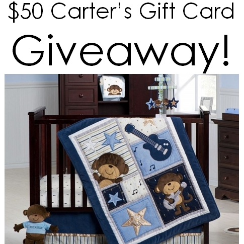 $50 Carter's Gift Card Giveaway!
