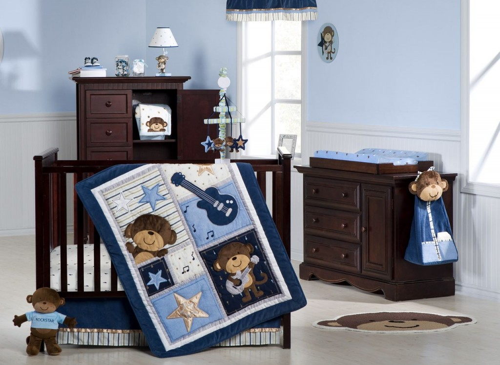Monkey Rockstar Bedding
