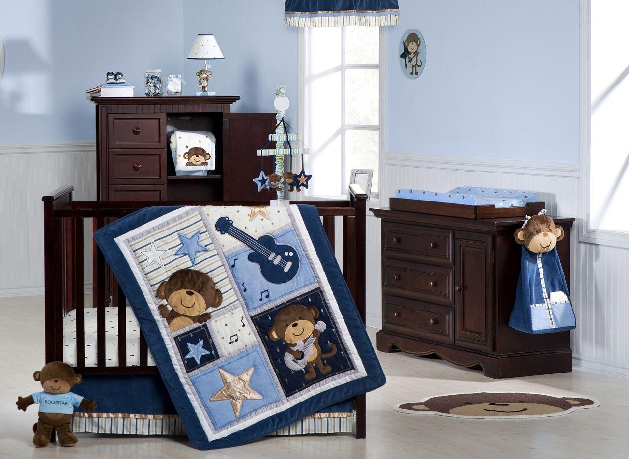 Rockstar Crib Bedding Trend Lab Rockstar Crib Bedding