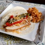 Southwest Pepper Chicken Fajitas