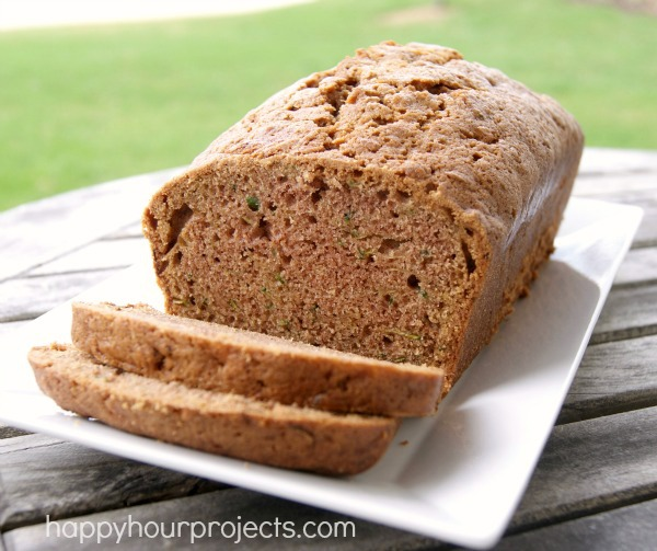 Baking from the Garden: Zucchini Bread