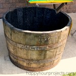 Whiskey Barrel Planter Project (Part One!)