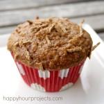 Pineapple Raisin Bran Muffins