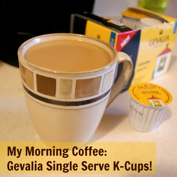 Gevalia coffee for use in the Keurig® K-Cup® Brewer