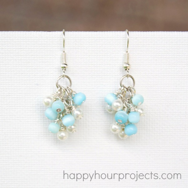 Grapevine Earrings at happyhourprojects.com