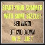 $180 Amazon Gift Card Giveaway!