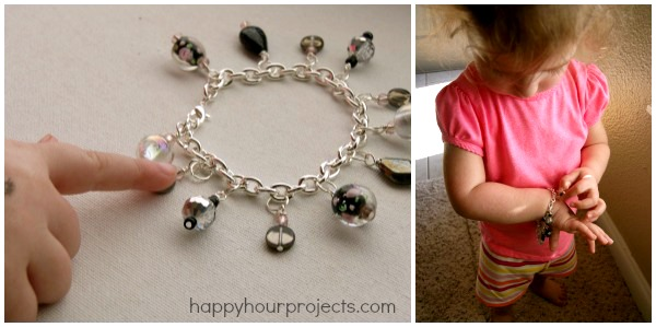 Classic Charm Bracelet at happyhourprojects.com