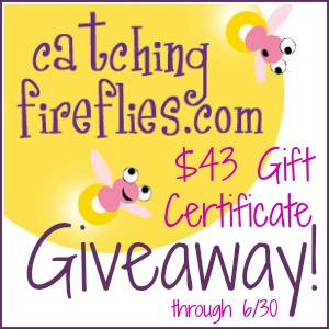 Catching Fireflies Giveaway at www.happyhourprojects.com