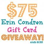 $75 Erin Condren Life Planner Giveaway!
