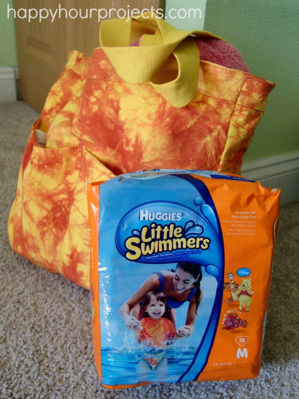 Huggies Little Swimmers at the Splash Park www.happyhourprojects.com