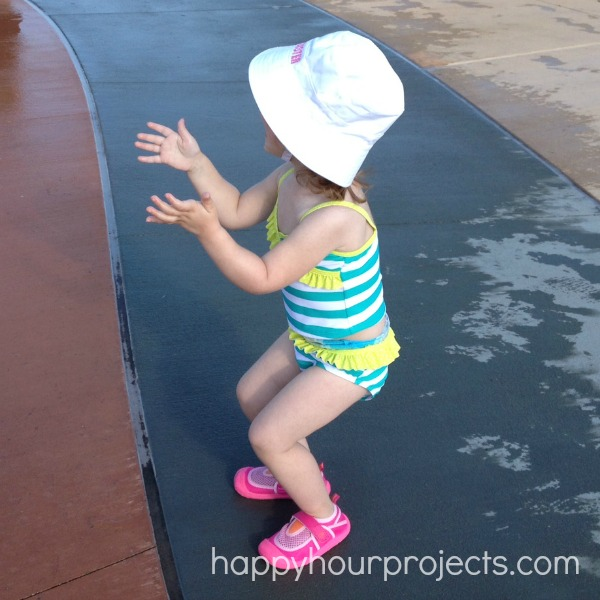 Huggies Little Swimmers at the Water Park www.happyhourprojects.com