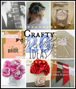 20 DIY Wedding Ideas at www.happyhourprojects.com