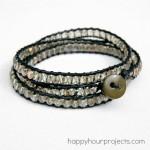 DIY Crystal Wrap Bracelet